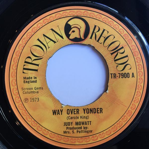 ★Judy Mowatt/Way Over Yonder★CAROL KING名曲カバー!_画像1