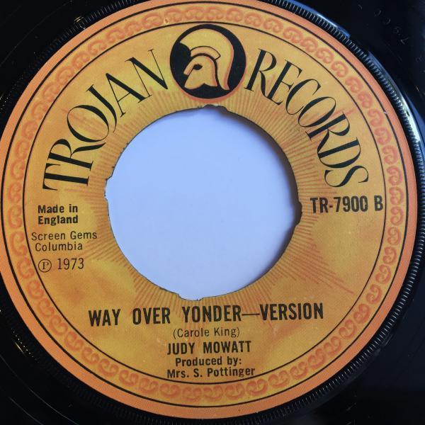 ★Judy Mowatt/Way Over Yonder★CAROL KING名曲カバー!_画像2