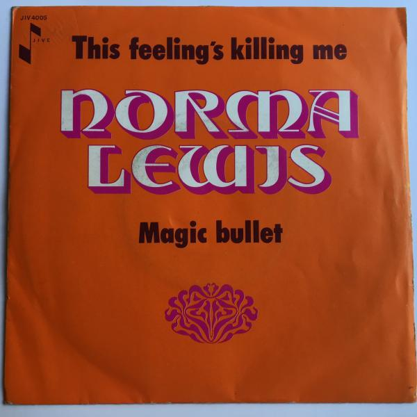 ★Norma Lewis/This Feelings Killing Me★人気カバーLOVERS!レア7インチ!