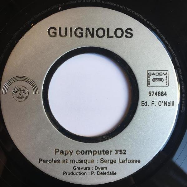 ☆Guignols/Papy Computer◇仏SYNTH WAVE!_画像2