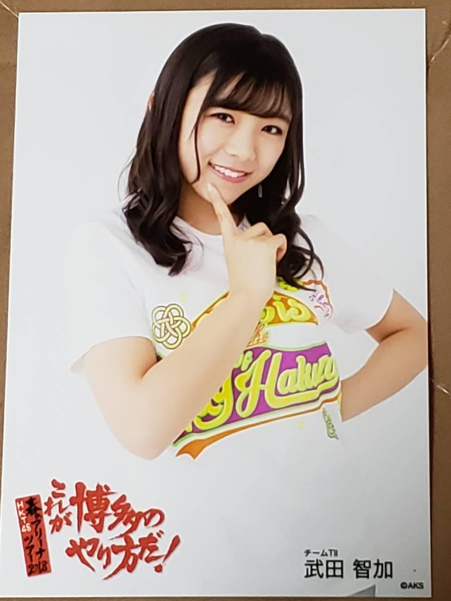 HKT48春のアリーナツアー2018『これが博多のやり方だ!』 DVD 特典生写真「武田智加」 『送料無料』
