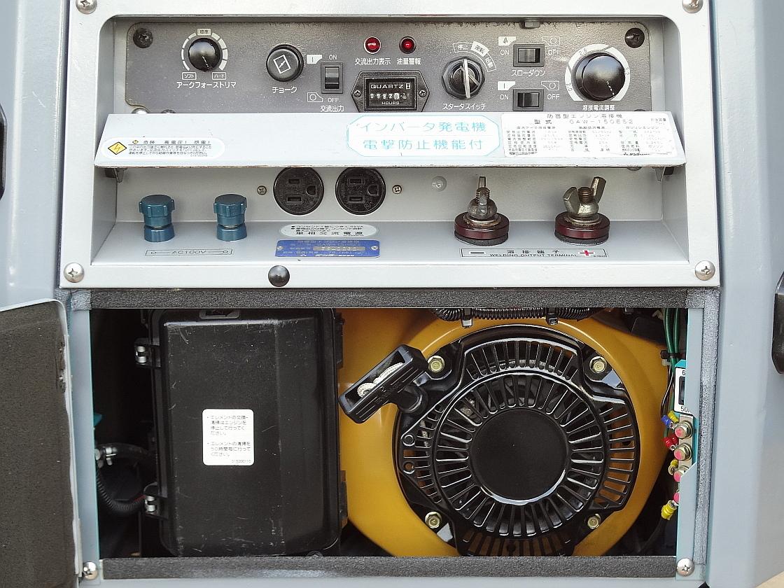☆★DENYO 防音型 インバーター発電機&溶接機GAW-150ES2★☆_画像2