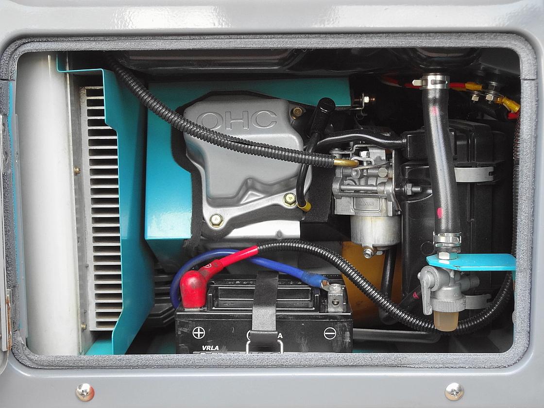☆★DENYO 防音型 インバーター発電機&溶接機GAW-150ES2★☆_画像6