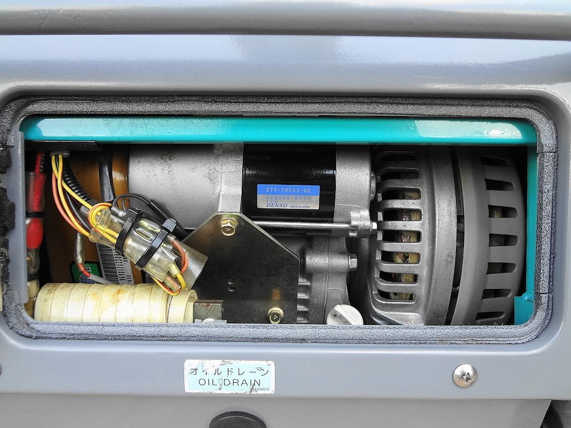 ☆★DENYO 防音型 インバーター発電機&溶接機GAW-150ES2★☆_画像7