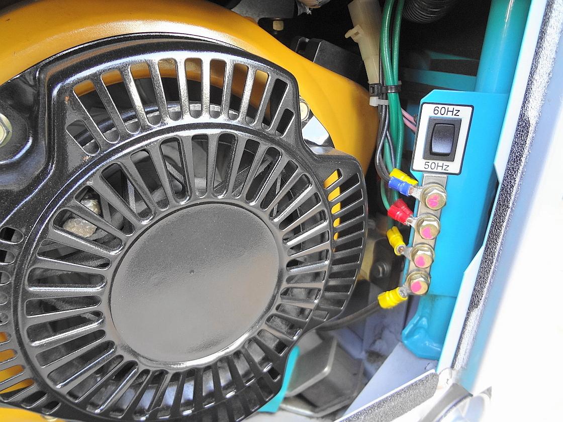 ☆★DENYO 防音型 インバーター発電機&溶接機GAW-150ES2★☆_画像10