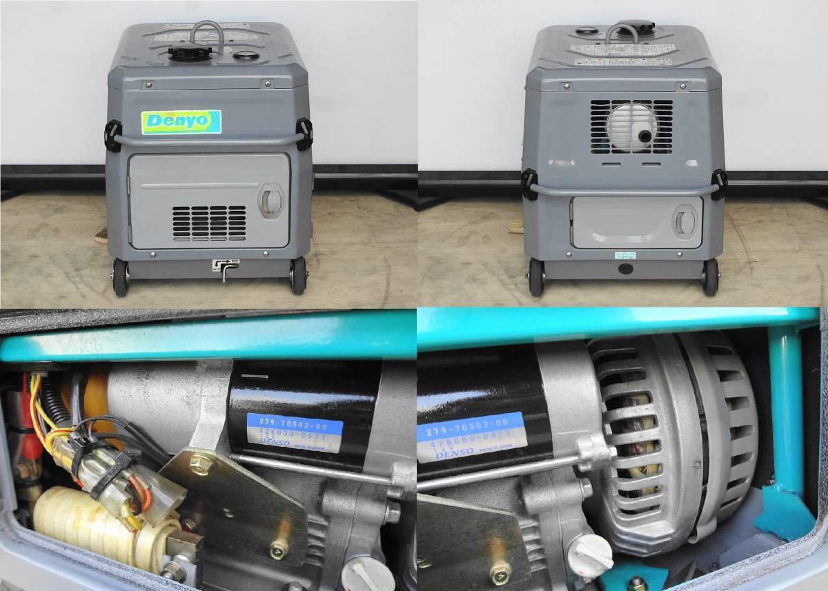☆★DENYO 防音型 インバーター発電機&溶接機GAW-150ES2★☆_画像8