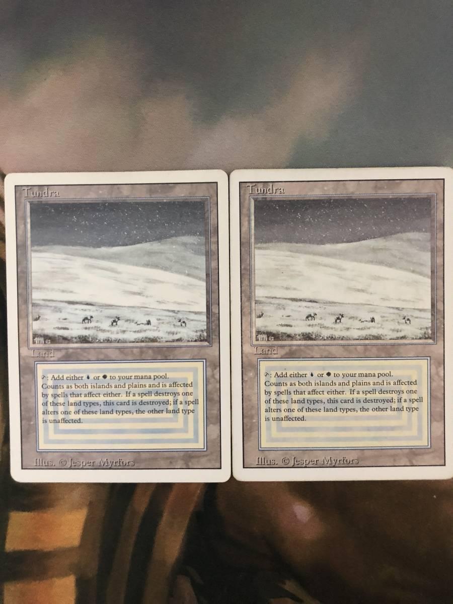 【MTG】Tundra×2【PLD】B