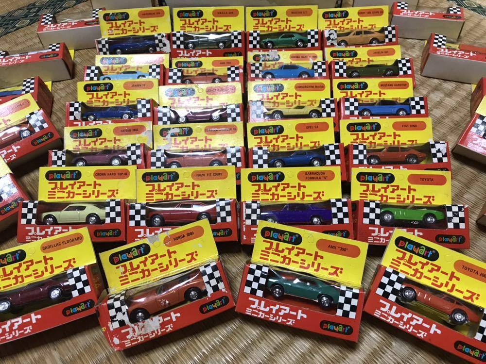 プレイアート ミニカーシリーズ 世界の名車シリーズ 36種 No.2_画像2