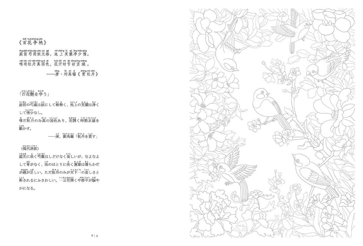 9784909140012 百花繚乱 中国伝統文化図譜 ピンイン付 日本語中国語対訳_画像9