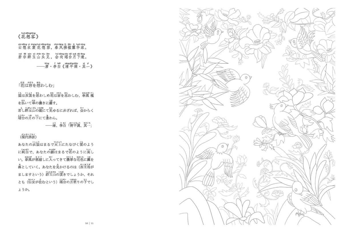 9784909140012 百花繚乱 中国伝統文化図譜 ピンイン付 日本語中国語対訳_画像10