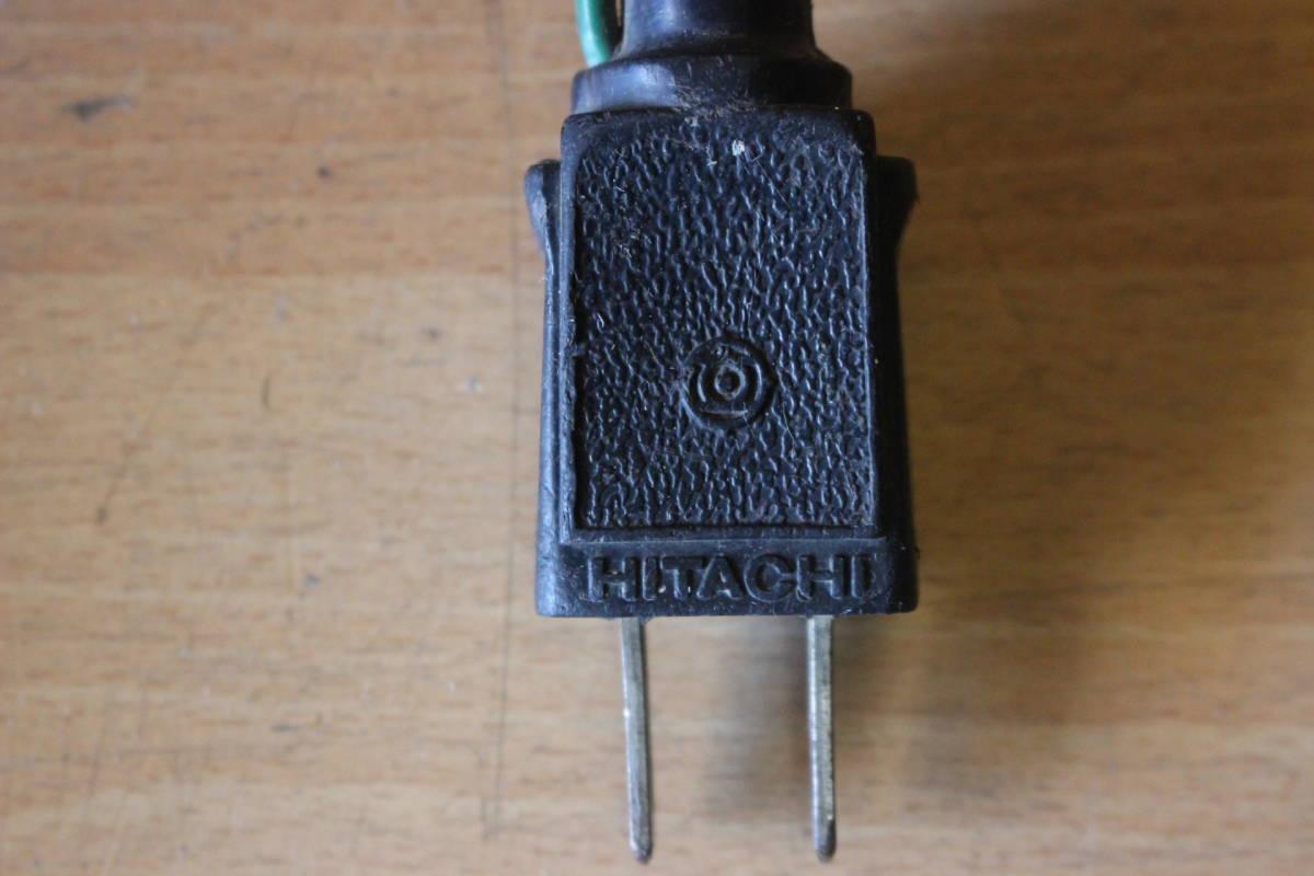 新★ ま-258 造作丸のこ ブレーキ付 C7B1 通電OK 1986年 カーボンブラシ交換要 185mm 寸法:高さ23cm 幅21cm 奥行28cm 重さ5kg_画像10