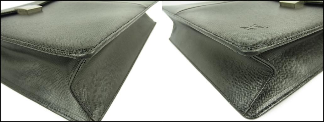 1円 ルイ ヴィトン LOUIS VUITTON 美品 メンズ タイガ M30802 セルヴィエット カザン ブリーフケース 書類かばん ビジネスバッグ_画像6
