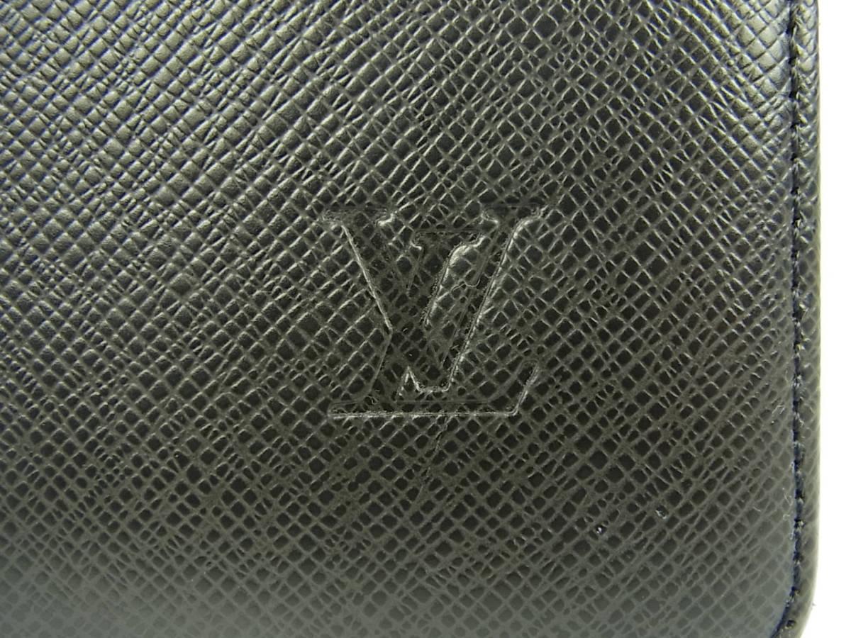1円 ルイ ヴィトン LOUIS VUITTON 美品 メンズ タイガ M30802 セルヴィエット カザン ブリーフケース 書類かばん ビジネスバッグ_画像5