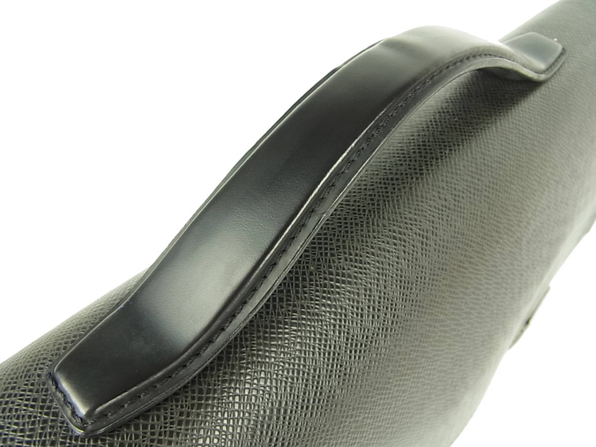 1円 ルイ ヴィトン LOUIS VUITTON 美品 メンズ タイガ M30802 セルヴィエット カザン ブリーフケース 書類かばん ビジネスバッグ_画像3