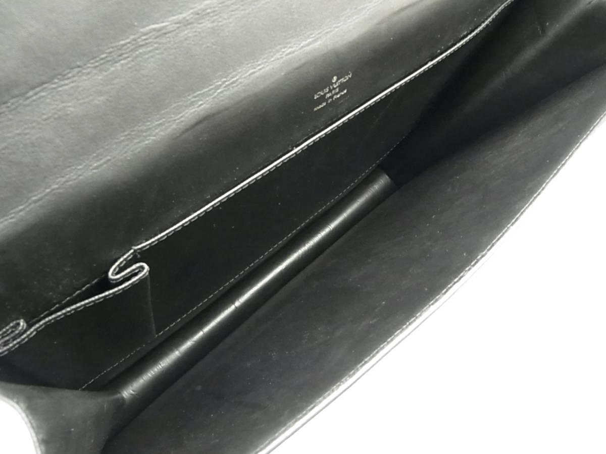 1円 ルイ ヴィトン LOUIS VUITTON 美品 メンズ タイガ M30802 セルヴィエット カザン ブリーフケース 書類かばん ビジネスバッグ_画像9