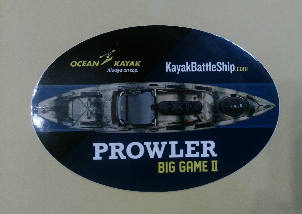 KayakBattleShip.com ステッカー
