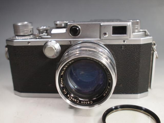 ◆Canon【ⅣSb】+レンズ【SERENAR f:1.8 50mm】 難有り?現状 キヤノン