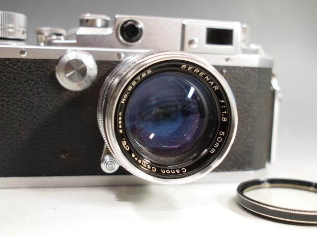 ◆Canon【ⅣSb】+レンズ【SERENAR f:1.8 50mm】 難有り?現状 キヤノン_画像3