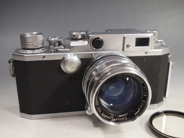 ◆Canon【ⅣSb】+レンズ【SERENAR f:1.8 50mm】 難有り?現状 キヤノン_画像2