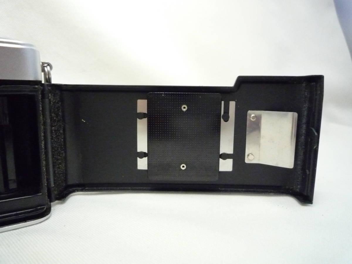 ビンテージ 昔のフィルムカメラ オリンパス Pen EES-2 箱・ケース・説明書あり ジャンク品_画像8