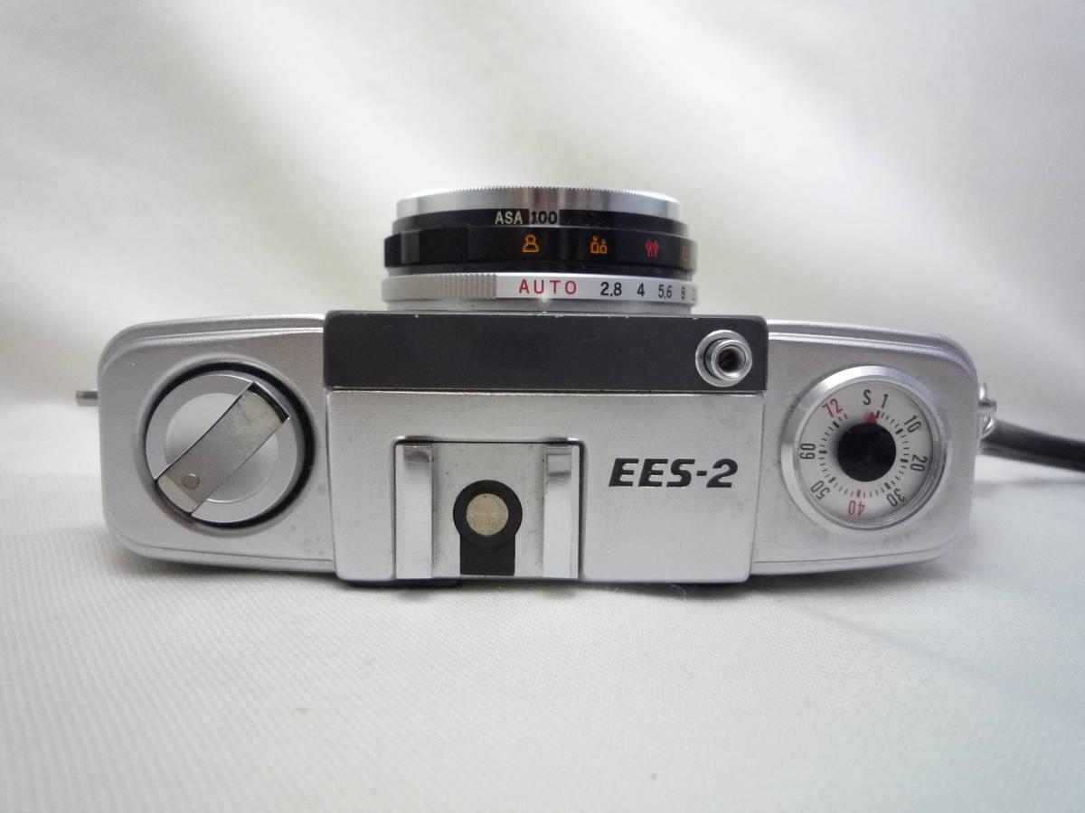 ビンテージ 昔のフィルムカメラ オリンパス Pen EES-2 箱・ケース・説明書あり ジャンク品_画像4