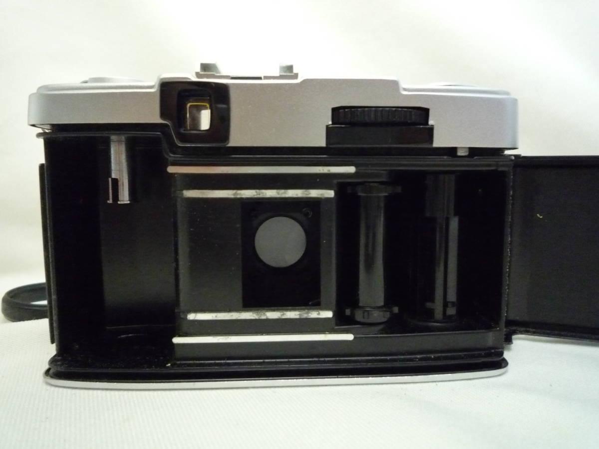 ビンテージ 昔のフィルムカメラ オリンパス Pen EES-2 箱・ケース・説明書あり ジャンク品_画像7