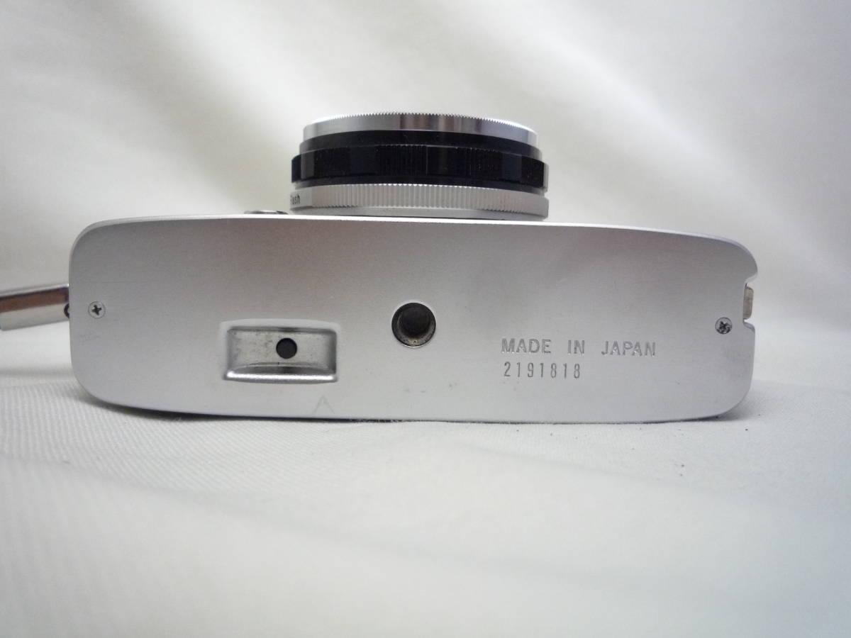 ビンテージ 昔のフィルムカメラ オリンパス Pen EES-2 箱・ケース・説明書あり ジャンク品_画像5