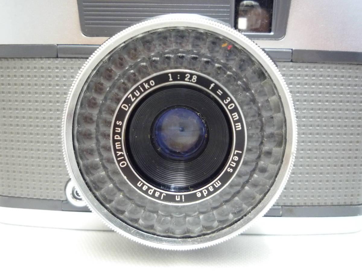 ビンテージ 昔のフィルムカメラ オリンパス Pen EES-2 箱・ケース・説明書あり ジャンク品_画像3