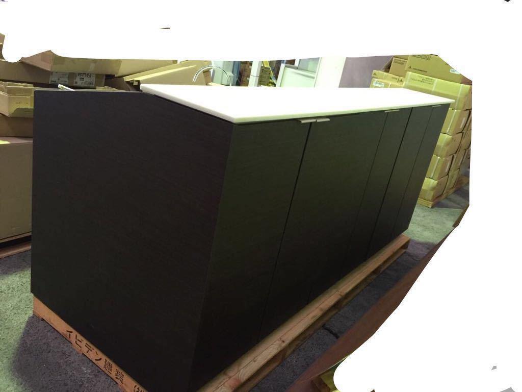 入札前に現品確認可  超高級品システムキッチン 流し台まですべて人工大理石 元値は三百万近いの物です_画像2