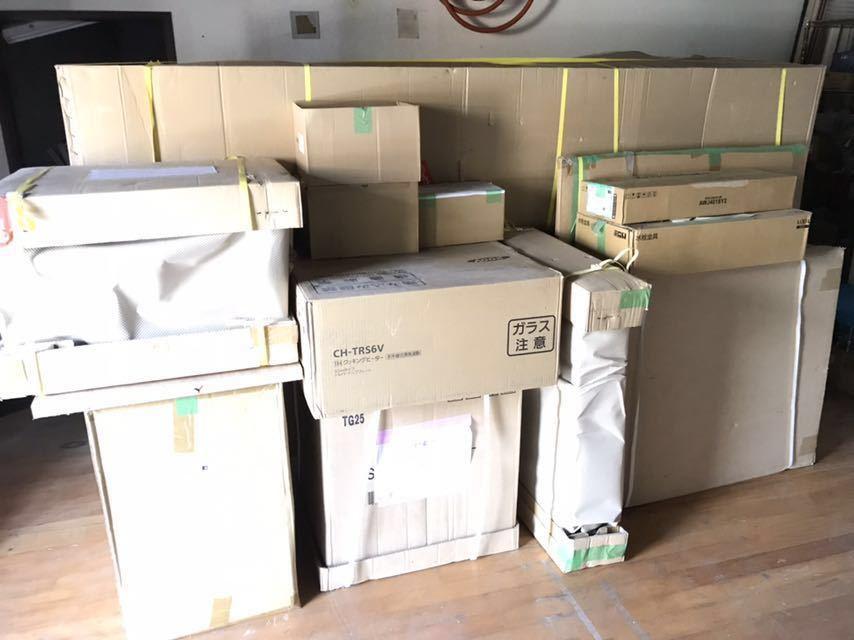 入札前に現品確認可  超高級品システムキッチン 流し台まですべて人工大理石 元値は三百万近いの物です_画像6
