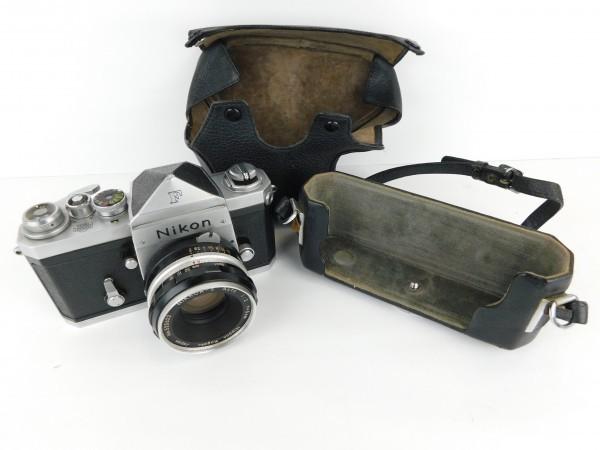 【1スタ】ニコン Nikon F Nippon Kogaku Tokyo レンズ NIKKOR-S Auto 1:2 f=5cm No.525622 一眼レフ カメラ_画像6