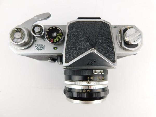 【1スタ】ニコン Nikon F Nippon Kogaku Tokyo レンズ NIKKOR-S Auto 1:2 f=5cm No.525622 一眼レフ カメラ_画像2