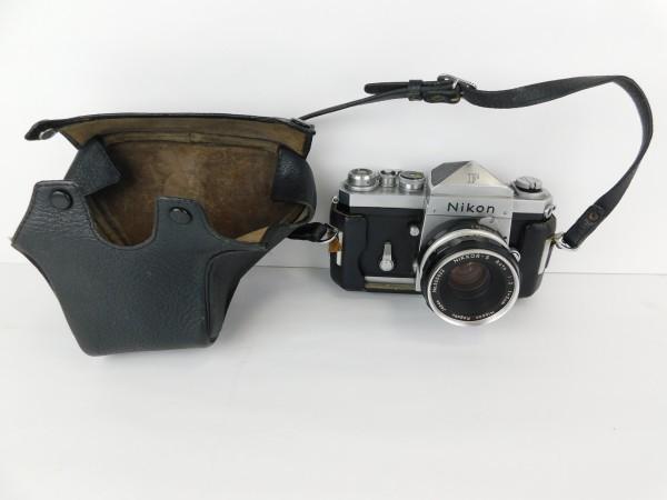【1スタ】ニコン Nikon F Nippon Kogaku Tokyo レンズ NIKKOR-S Auto 1:2 f=5cm No.525622 一眼レフ カメラ_画像7