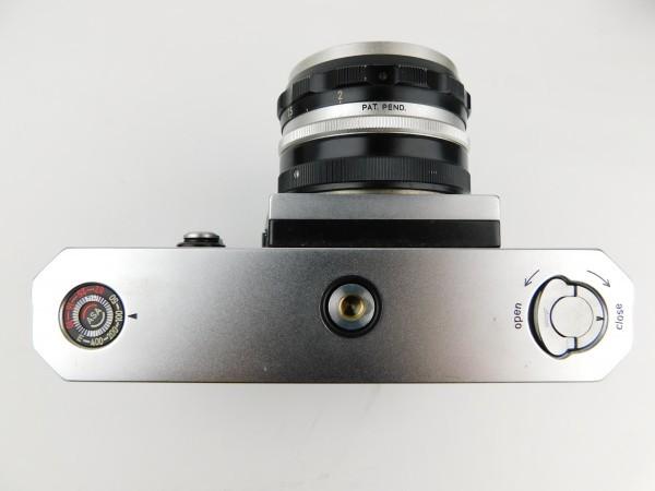 【1スタ】ニコン Nikon F Nippon Kogaku Tokyo レンズ NIKKOR-S Auto 1:2 f=5cm No.525622 一眼レフ カメラ_画像3