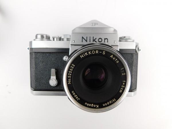 【1スタ】ニコン Nikon F Nippon Kogaku Tokyo レンズ NIKKOR-S Auto 1:2 f=5cm No.525622 一眼レフ カメラ