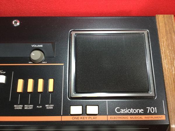 動作確認済 テスト済 中古美品 CASIO/CASIOTONE 701/カシオトーン701 定価 148000円 超高級 シンセサイザー_画像8