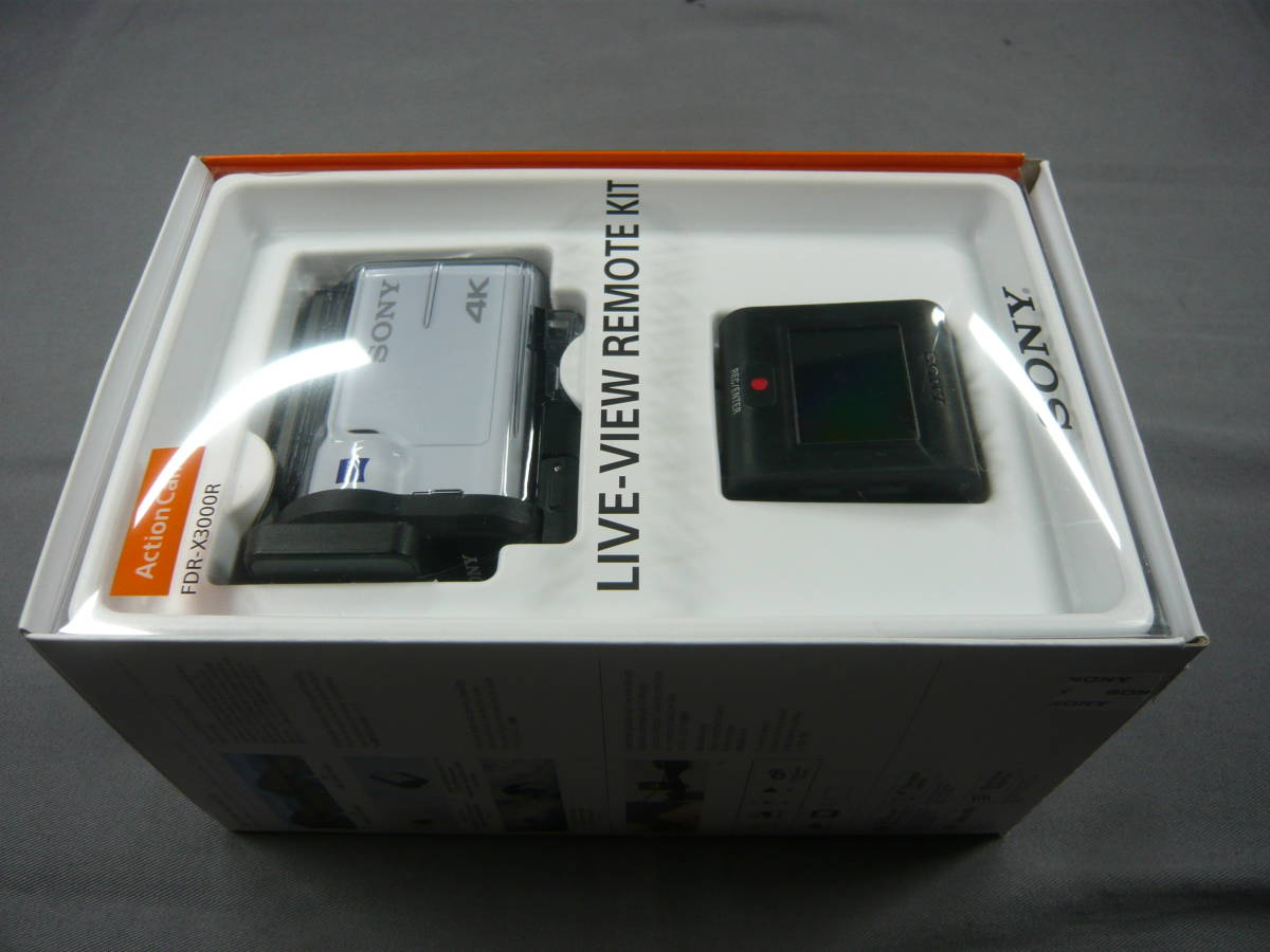 SONY アクションカム FDR-X3000R REMOTE KIT 中古_画像6