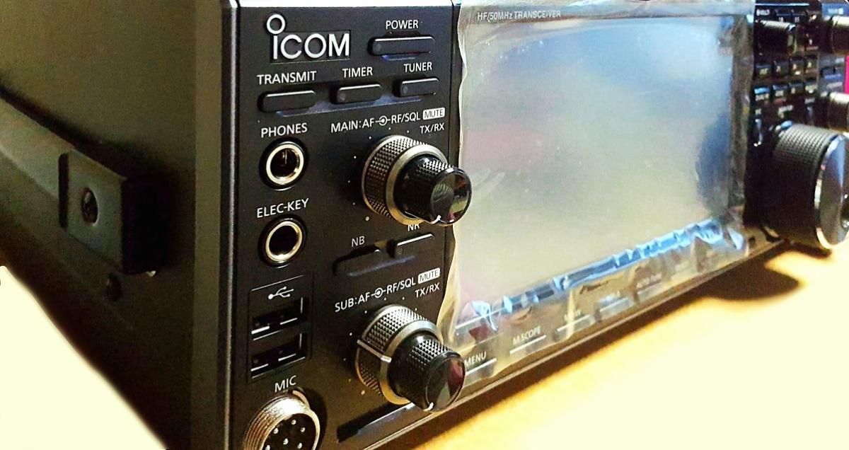 ICOM IC-7610 HF/50MHz (100W) ¥9999スタート ☆新製品☆美品☆ ☆:゜+。.送料無料.+*:゜☆_画像2