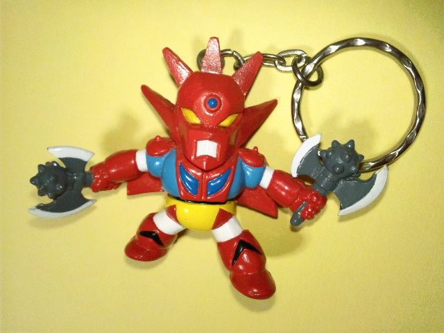 Super Robot Wars passionate collection Keychain getter Dragon Used