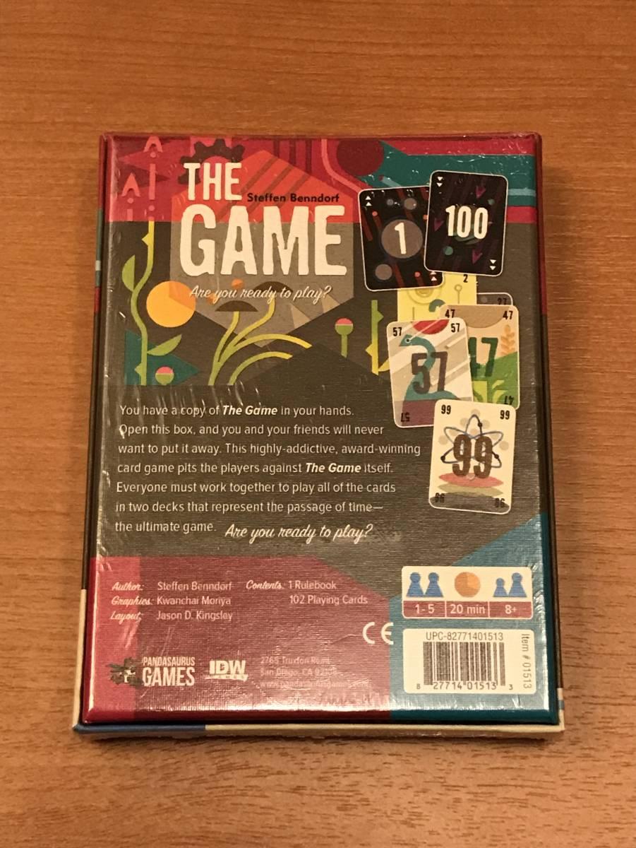ザ・ゲーム The Game カラフルなパンダザウルス版 自作和訳付き_画像2