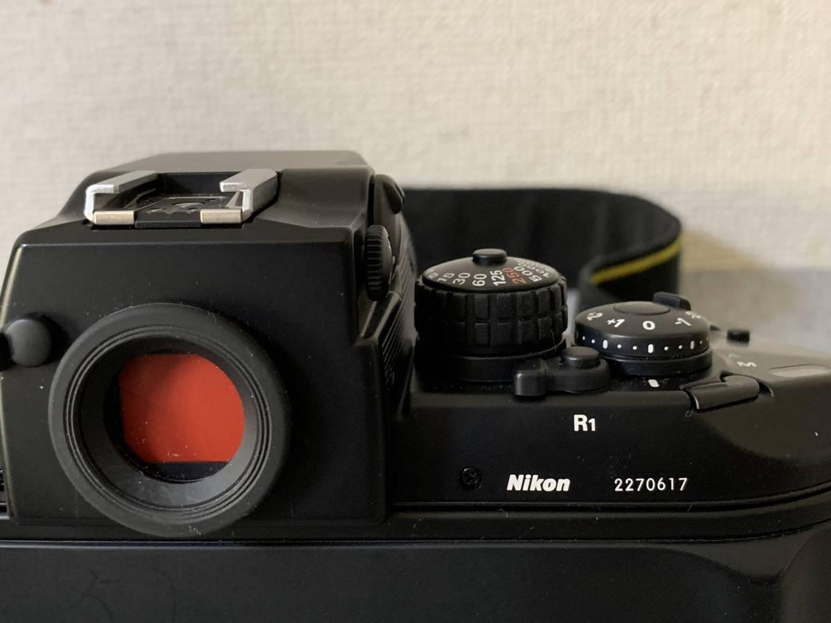 お買い得!一眼レフ・マニアの方 防湿庫保管・超美品 NIKON F-4 (AF NIKKOR 28-85mm 1.35-4.5) 画像のものが全てです_画像7