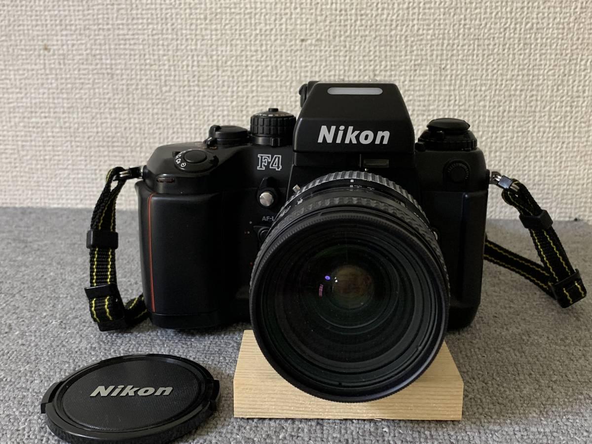 お買い得!一眼レフ・マニアの方 防湿庫保管・超美品 NIKON F-4 (AF NIKKOR 28-85mm 1.35-4.5) 画像のものが全てです_画像2