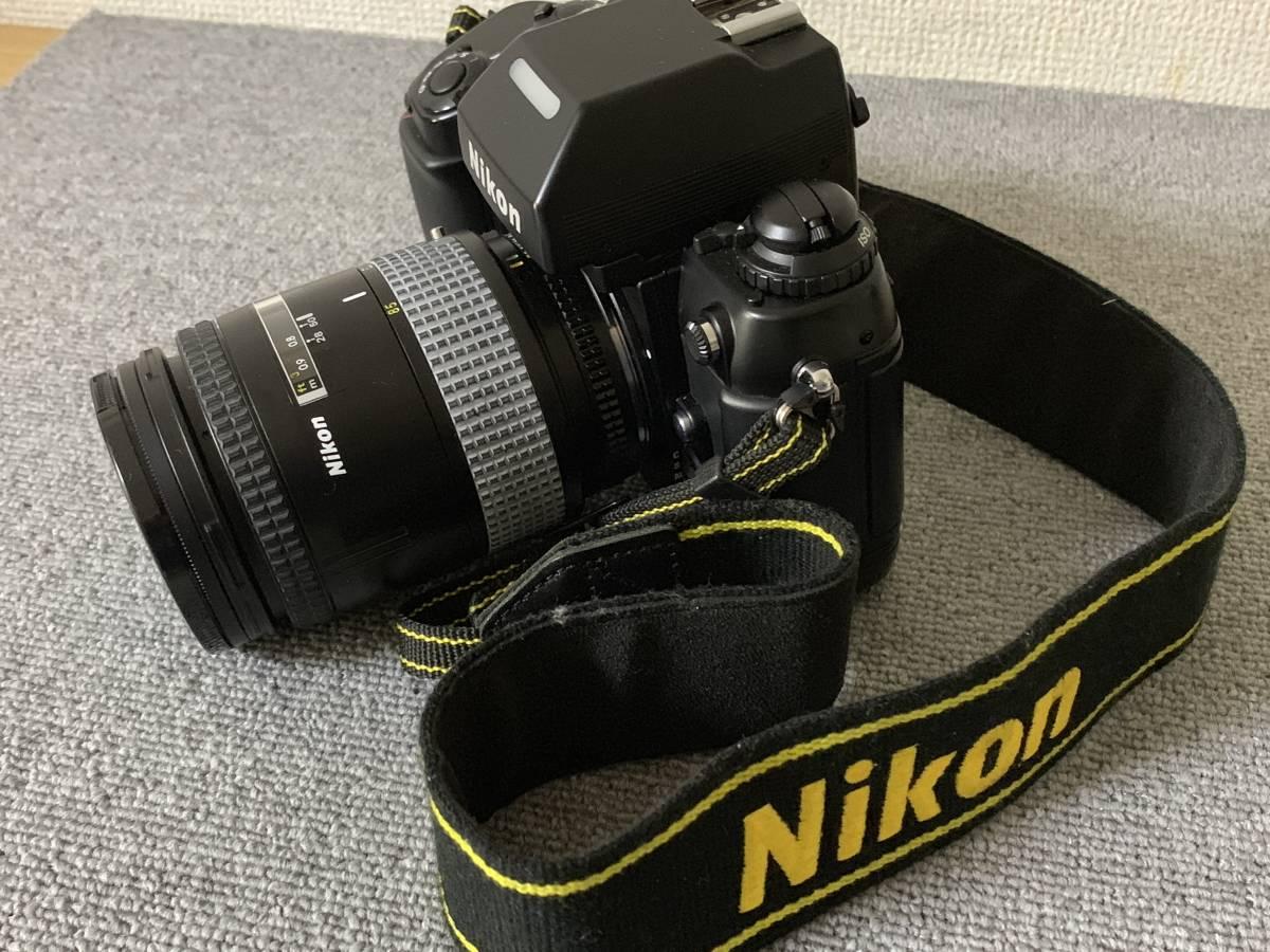 お買い得!一眼レフ・マニアの方 防湿庫保管・超美品 NIKON F-4 (AF NIKKOR 28-85mm 1.35-4.5) 画像のものが全てです_画像10