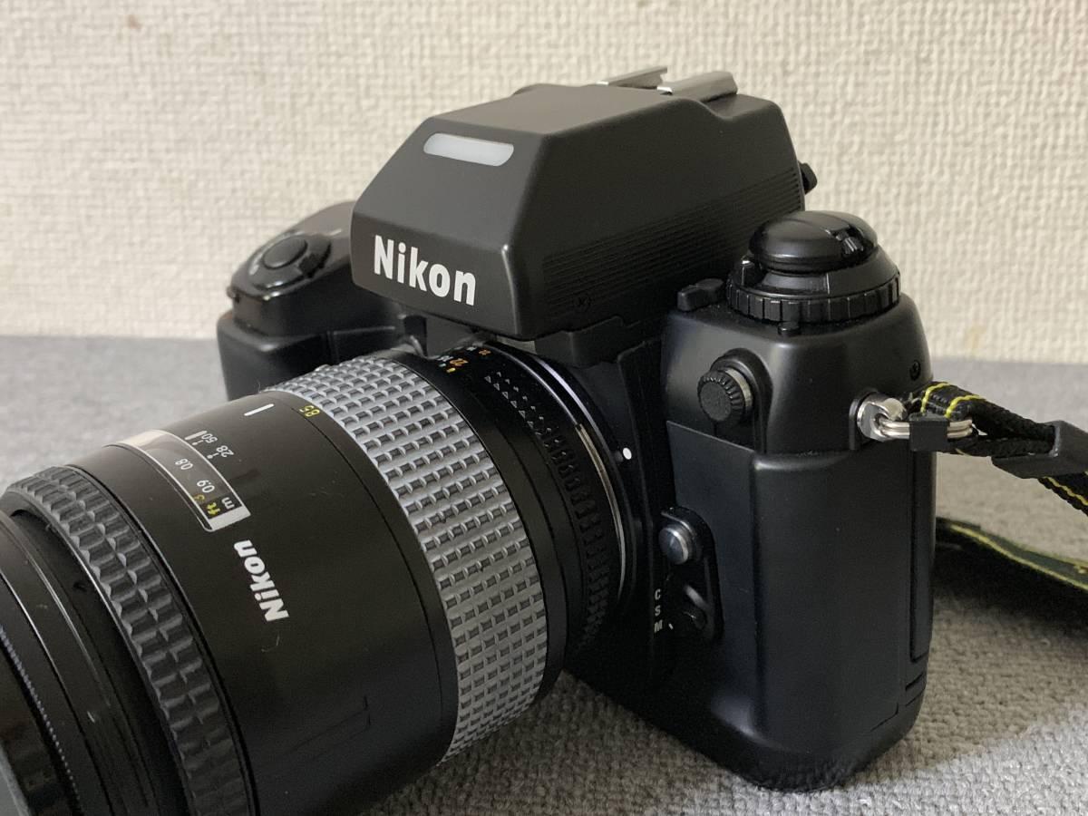 お買い得!一眼レフ・マニアの方 防湿庫保管・超美品 NIKON F-4 (AF NIKKOR 28-85mm 1.35-4.5) 画像のものが全てです_画像9
