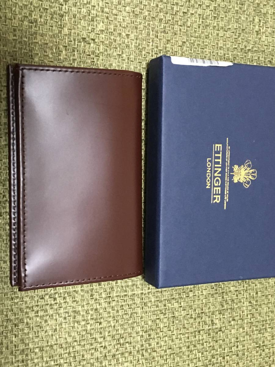 0af88579251a 代購代標第一品牌- 樂淘letao - エッティンガーETTINGER カードケースBRIDLE LEATHER 新品箱付き