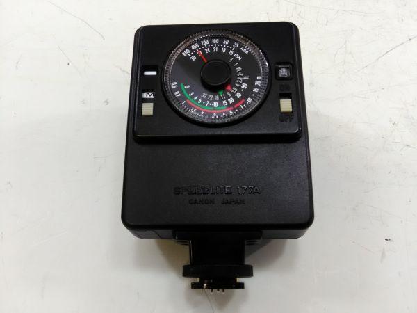 R1002-69/SA5000 フィルムカメラ Canon キャノン A-1 レンズ FD 24mm 1:2.8 35-105mm 1:3.5 スピードライト 177A ケース 説明書付_画像9