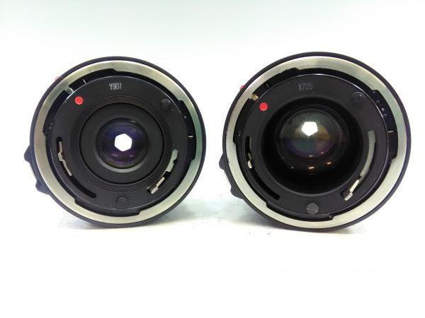 R1002-69/SA5000 フィルムカメラ Canon キャノン A-1 レンズ FD 24mm 1:2.8 35-105mm 1:3.5 スピードライト 177A ケース 説明書付_画像7