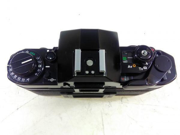 R1002-69/SA5000 フィルムカメラ Canon キャノン A-1 レンズ FD 24mm 1:2.8 35-105mm 1:3.5 スピードライト 177A ケース 説明書付_画像3