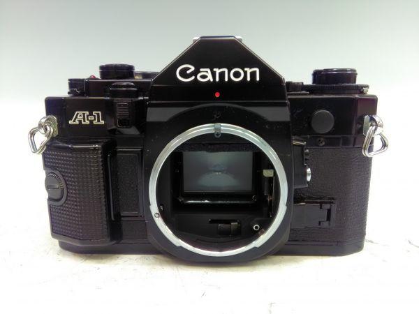 R1002-69/SA5000 フィルムカメラ Canon キャノン A-1 レンズ FD 24mm 1:2.8 35-105mm 1:3.5 スピードライト 177A ケース 説明書付_画像2