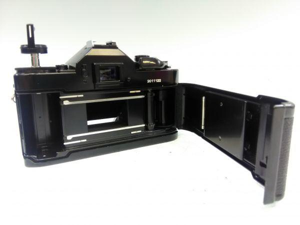 R1002-69/SA5000 フィルムカメラ Canon キャノン A-1 レンズ FD 24mm 1:2.8 35-105mm 1:3.5 スピードライト 177A ケース 説明書付_画像4
